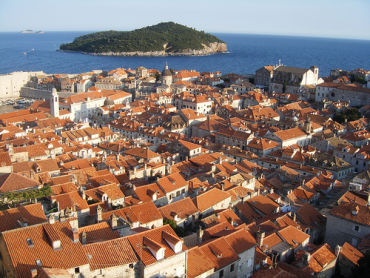 Croatia faces risk of default. A view of Dubrovnik.
