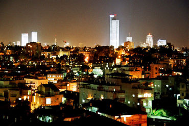 Israel is a likely default case. A view of Tel Aviv.