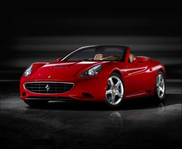 Italian luxury sports car Ferrari on Thursday officially entered the Indian market.