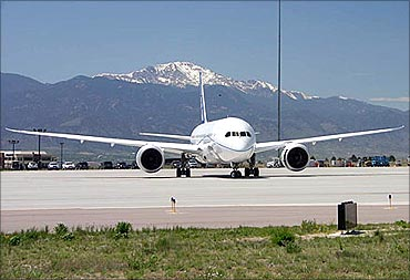 Boeing Dreamliner 787.