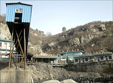 Operations of Mang Wang Coal Mine, which was taken over by Xishan Coal Electricity Group Ltd in 2009