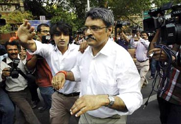 Vinod Goenka taken to court.