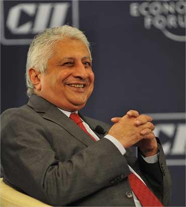 Hindustan Construction Company's Ajit Gulabchand.