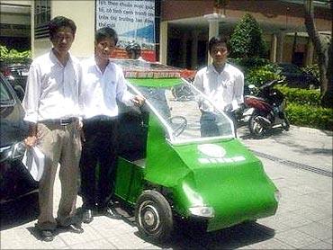 SC4 Solar Car.