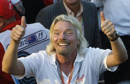 Richard Branson lends a hand to tiger conservation