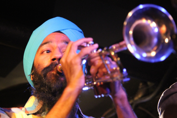 Singh at globalFEST at Webster Hall in New York Ci