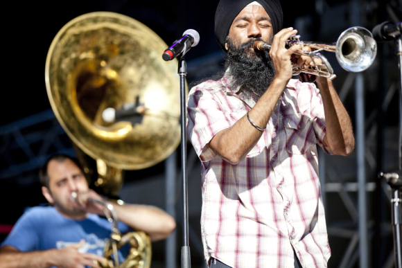 Singh performs at Festival d ete de Quebec, Canada.