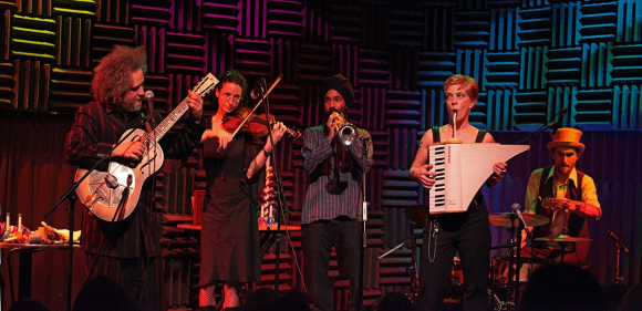 Singh at Joe's Pub in New York City.