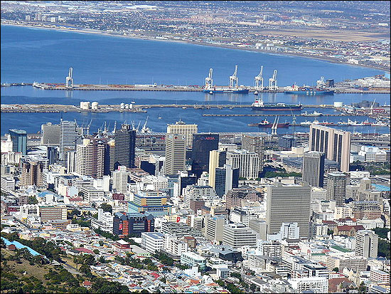 Central Cape Town.