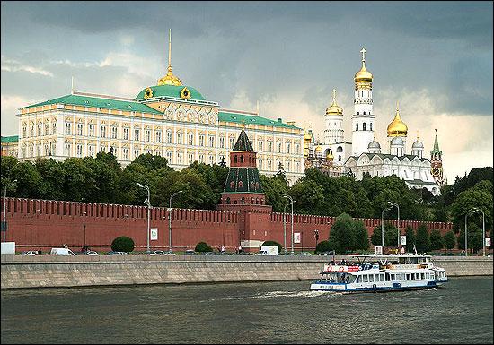 Kremlin in Moscow.