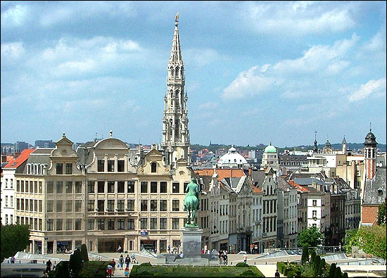 Brussels, the capital city and largest metropolitan area of Belgium.