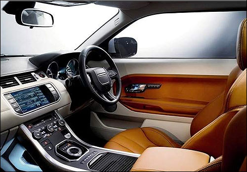 new suv in town the sizzling range rover evoque rediff. Black Bedroom Furniture Sets. Home Design Ideas