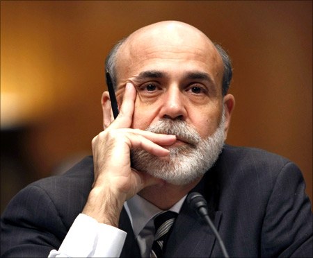 Chairman of the Federal Reserve Ben Bernanke.