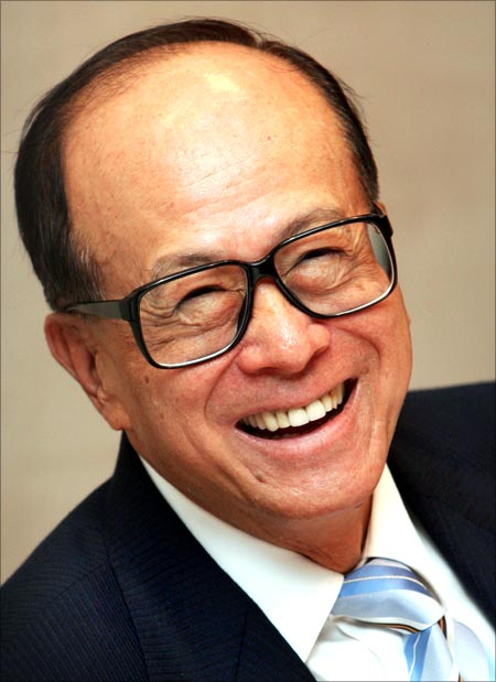 China born entrepreneur Li Ka-shing had to drop out of school before he turned 15.