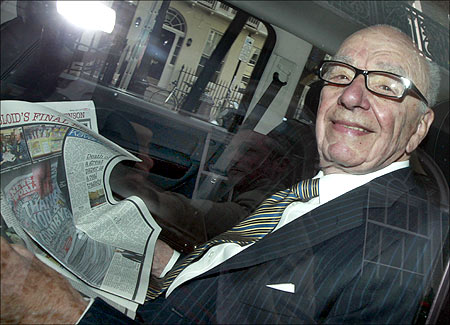 News Corporation CEO Rupert Murdoch.