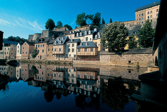 A view of Luxembourg.