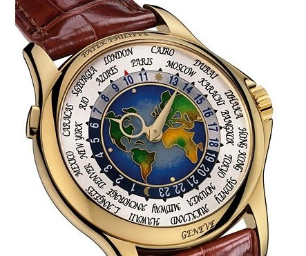 Patek Philippe's Platinum World Time.