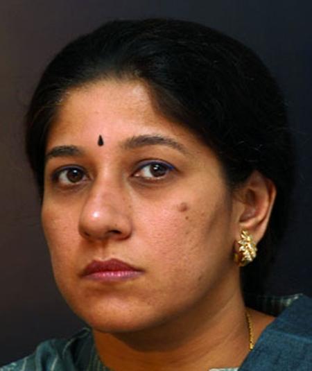 Mallika Srinivasan.