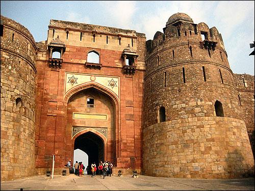 Purana Qila - ruins of Shergarh.