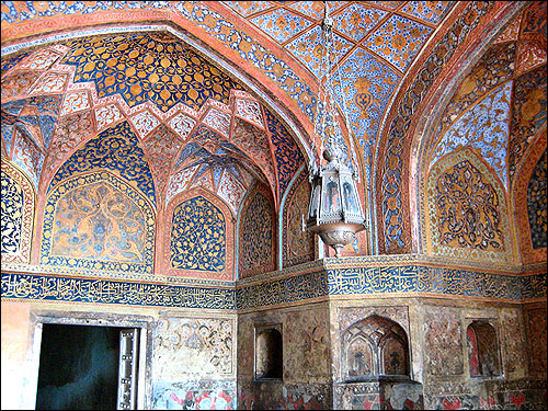The antechamber to Akbar's tomb at Sikandra. Agra