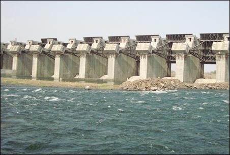 Indira Sagar Dam.