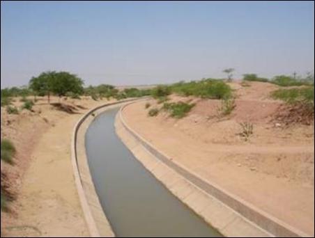 Indira Gandhi Canal.