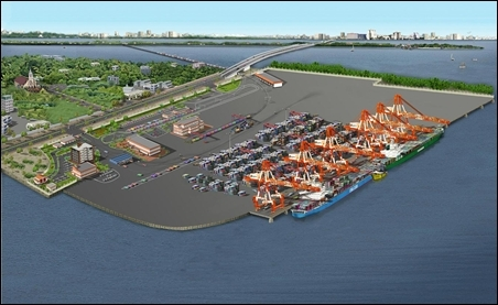 Kochi International Container Transhipment Terminal.