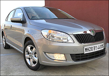 The stunning Skoda Rapid soon in India