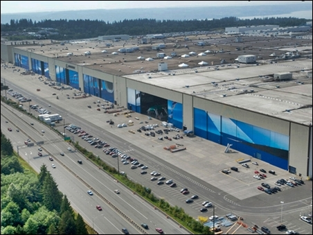 Boeing Everett Factory.