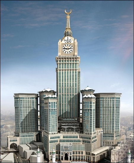 Abraj Al-Bait Towers.