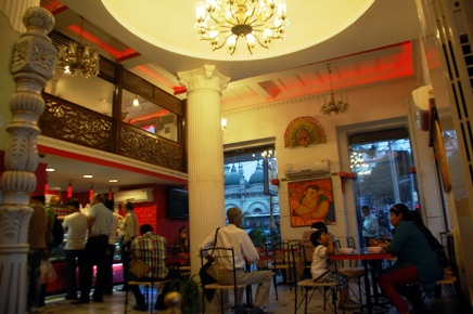 K C Das recently renovated its Esplanade East outlet-cum-restaurant.