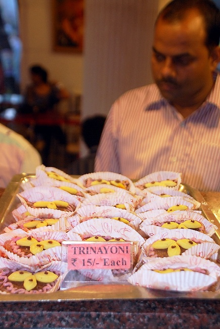 Trinayoni: Each at Rs 15 resembles the three eyes of Goddess Durga.