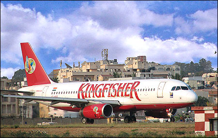 Kingfisher aircraft.