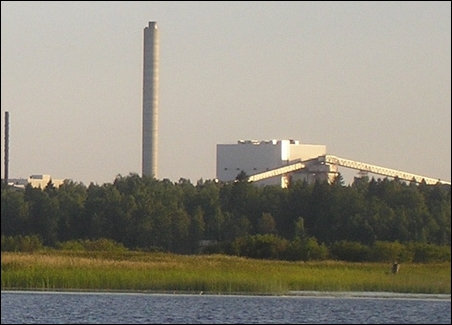 Alholmens Kraft Biomass Power Station.