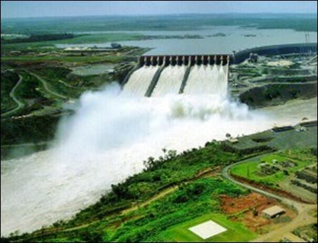Itaipu Dam.