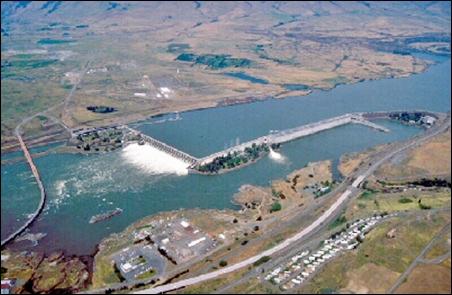Dalles Dam.