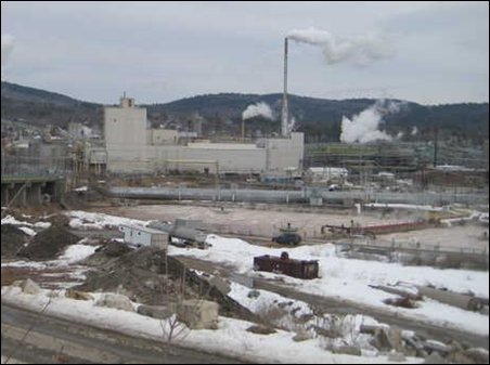 Rumford Cogen Power Station.