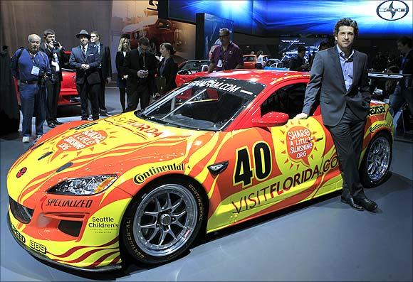 Mazda race car.