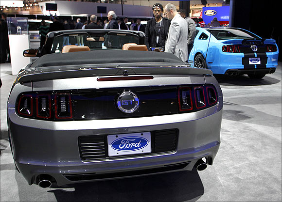 Ford Mustang GT Convertible.