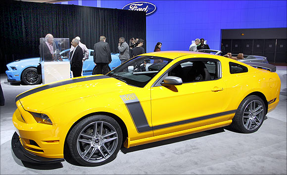 Ford 2013 Boss 302 Mustang.