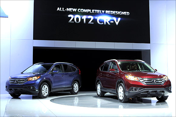Honda 2012 CRV.
