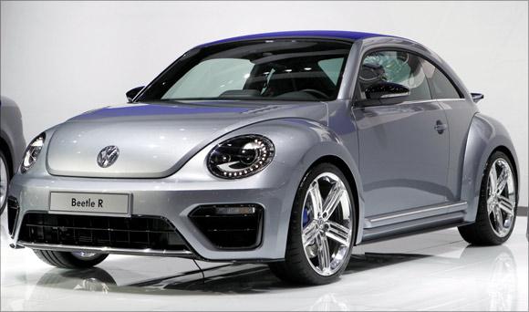 Volkswagen Beetle R concept car.
