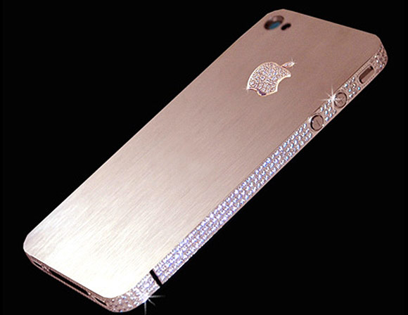 iPhone 4 Diamond Rose.