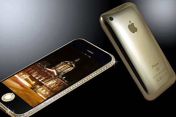 iPhone 3GS Gold and Swarovski Edition.