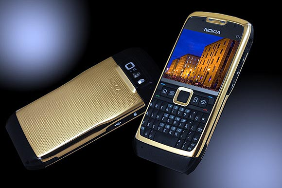 Nokia E71 24ct Gold.