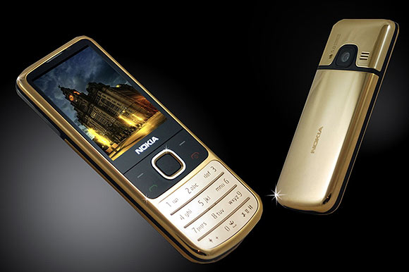 Nokia 6700 24ct Gold Edition.