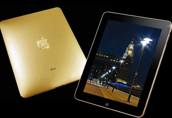 iPad2 Crystal gold edition.