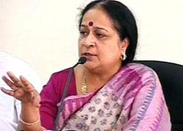 Environment Minister Jayanthi Natarajan.
