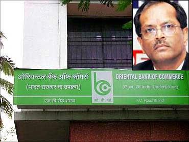 Inset: Nagesh Pydah, CMD, Oriental Bank of Commerce.
