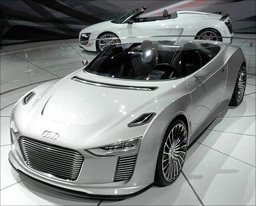 Audi Etron Spyder.
